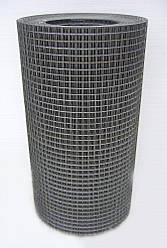 Зварна оцинкована сітка для кліток 12,5*12,5*1,2 ширина 1м