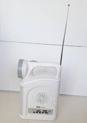 Багатофункціональний Ліхтар з Fm/Mp3 Програвачем, фото 2