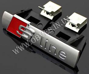 Эмблема S-Line в решетку Audi A6