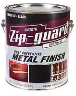 Краска Zip-Guard  черная глянцевая 3.78л, антикоррозионная