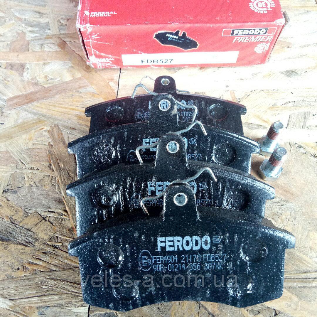 Колодки тормозные передние ВАЗ 2108, 2109, 21099, 2113, 2114, 2115 Ferodo