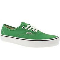 Кеды женские Vans green