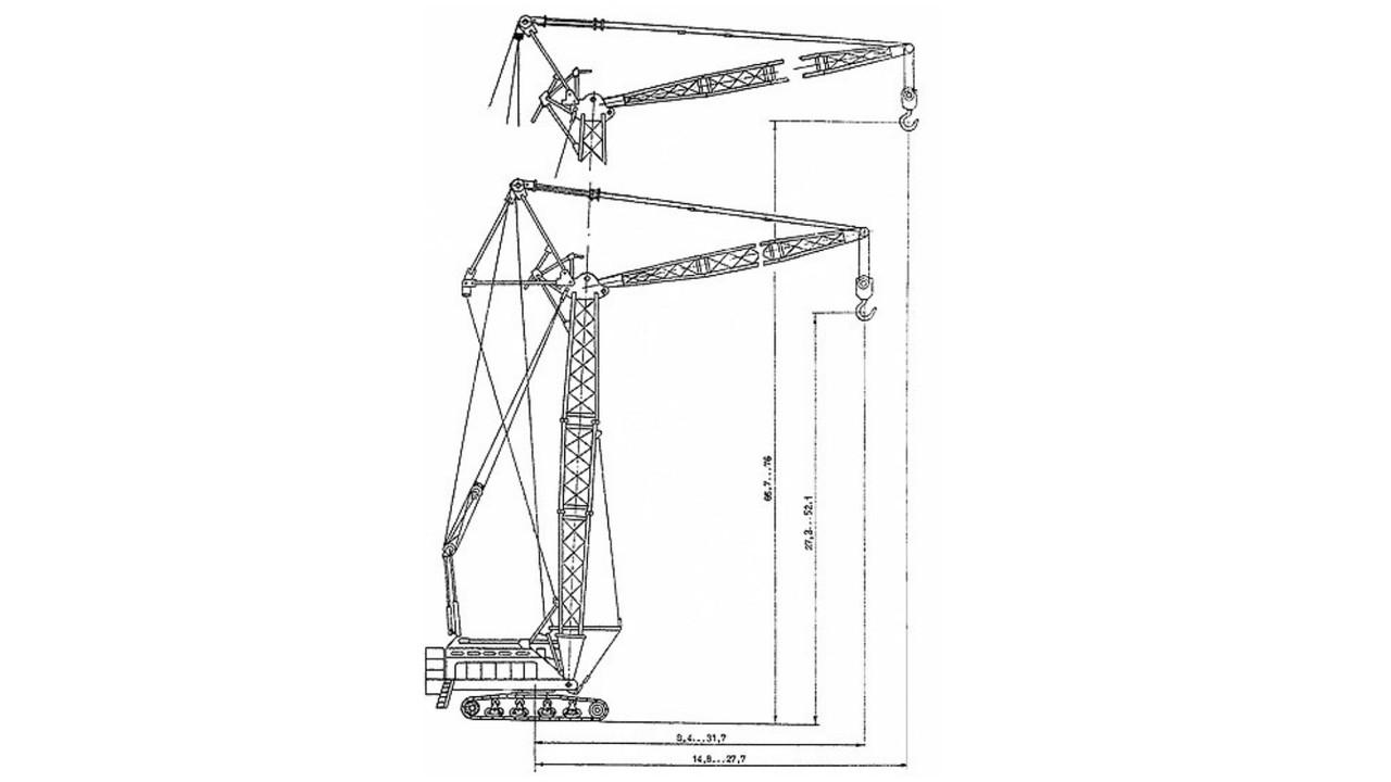 Услуги Гусеничного крана  КС-8165 (100 тонн)