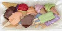 Декоративные пуговицы Мороженое на палочке