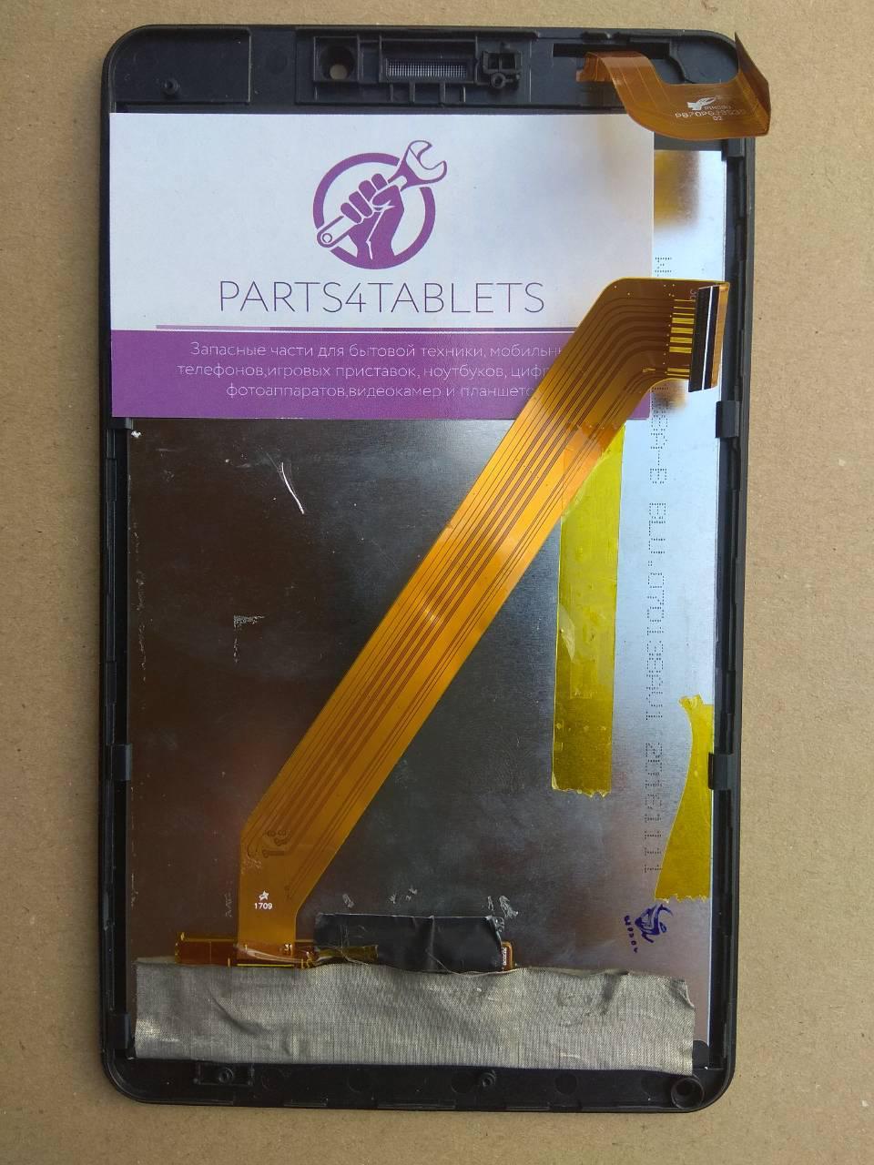 Дисплейный модуль для планшета Nomi C070010 Corsa / PB70PGJ3535 с рамк