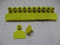 Ушная бирка б.н. D 42х49 мм (свиньи)