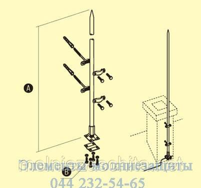 Молниеприемник 1 метр