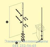 Молниеприемник 1 метр, фото 1