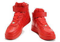 Женские кроссовки Nike Air Force red