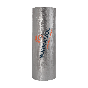 Теплоизоляционный материал для промышленного оборудования АЛЮФОМ ® R-АЛЮХОЛСТ - 6 мм