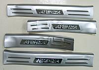 Mazda 6 накладки на пороги MAZDA Мазда 6 Atenza 2014+ защитные верхние