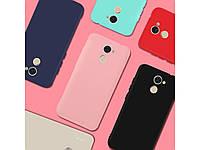 Матовый силиконовый чехол SMTT для Samsung Galaxy J8 (2018) (выбор цвета)
