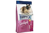 Сухой корм Happy Cat Supreme Sterilised  для стерильных  котов и кошек 4 кг.
