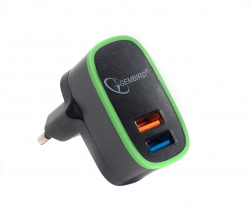 Зарядное устройство Gembird  MP3A-UC-AC9 .
