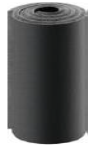Рулонная каучуковая изоляция - 6 мм