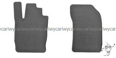 Коврики резиновые в салон  Audi A1 10- 2шт.  Stingray