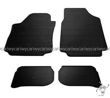 Коврики резиновые в салон Audi 100/A6 (C4) 91- 4шт. Stingray