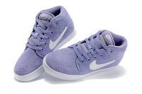 Женские кроссовки Nike Suketo High Suede violet, фото 1