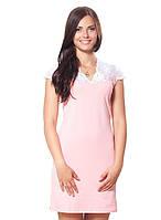 e269b87f5b1276b Красивая ночная рубашка для сна с кружевом, цвет: розовый, терракотовый,  мятный рр