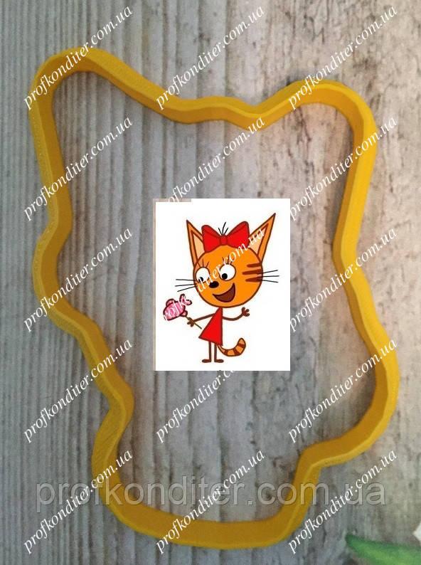 Пластиковая вырубка Карамелька (мульт Три кота), высота 10см