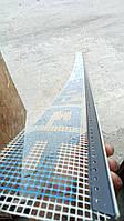 Профиль оконный примыкания серый графит с манжетой и сеткой (6мм), фото 1