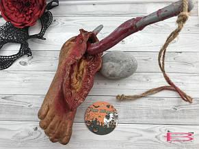 Муляж Нога с крюком Хэллоуин Halloween, фото 3