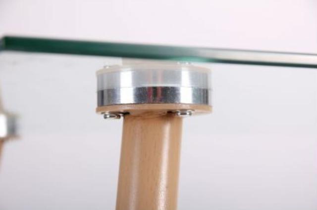 Стол обеденный Умберто DT-1633 бук/стекло прозрачное (фото 9.2)