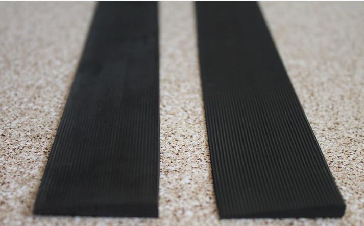 Полиуретановые косячки (рубцы) для ремонта обуви цвет черный