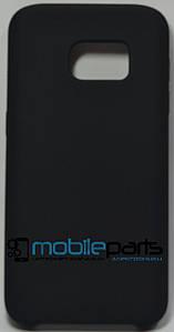 Силиконовый Чехол для Samsung Galaxy S7 Silicone Case (Черный)