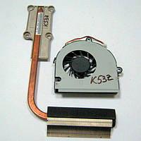 Система охлаждения Asus K53T, K53Z (UMA) БУ, фото 1