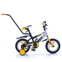 """Двухколёсный велосипед STITCH PY 12"""" черно-желтый Azimut"""