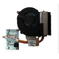 Система охлаждения HP Compaq CQ43, CQ57, 635 647316-001 (AMD, CPU BGA, UMA) БУ, фото 1