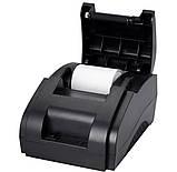 Чековий принтер 58мм Xprinter XP-58IIH, фото 2