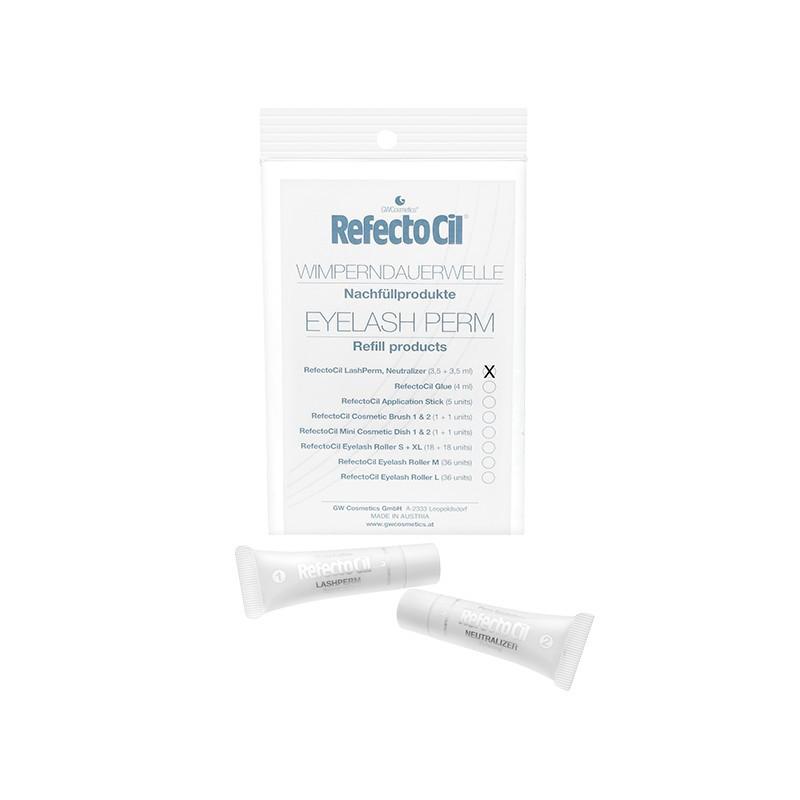 Составы для ламинирования ресниц Refectocil Eyelash Perm