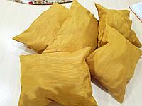 Комплект подушек  Стелла золото матовое 5шт, фото 1