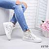 Кеды женские Fusion белые 5570, кеды женские осенняя обувь