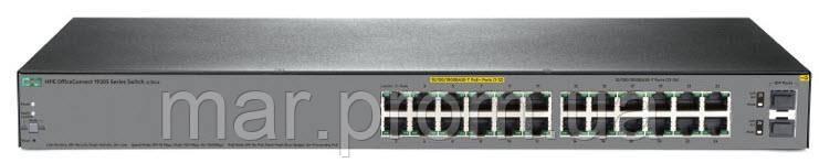 Коммутатор HPE 1920S 24G PPoE+ Switch, 12xGE/12xGE PoE+(185W), 2xGE-SFP, L2/3, Static, LT Warranty
