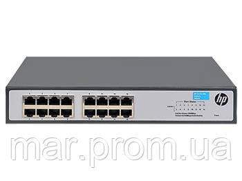 Коммутатор HP 1420-16G Unmanaged Switch, 16xGE ports L2, LT Warranty