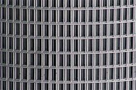 Сварная оцинкованная сетка для клеток 25*12,5*0,9 ширина 1м