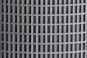 Сварная оцинкованная сетка для клеток 25*12,5*1,8 ширина 1м