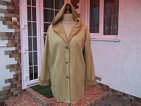 (48/50р) Флисовый кардиган свитер кофта куртка