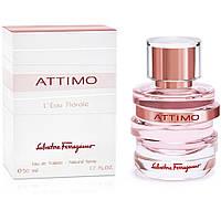 Женская туалетная вода Attimo L`Eau Florale Salvatore Ferragamo (легкий, свежий, женственный аромат) копия
