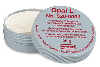Паста для зеркальной полировки Opal L, (Опал Л), 35 г,( Ренферт, Германия)