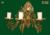 Бра на 3 свечи