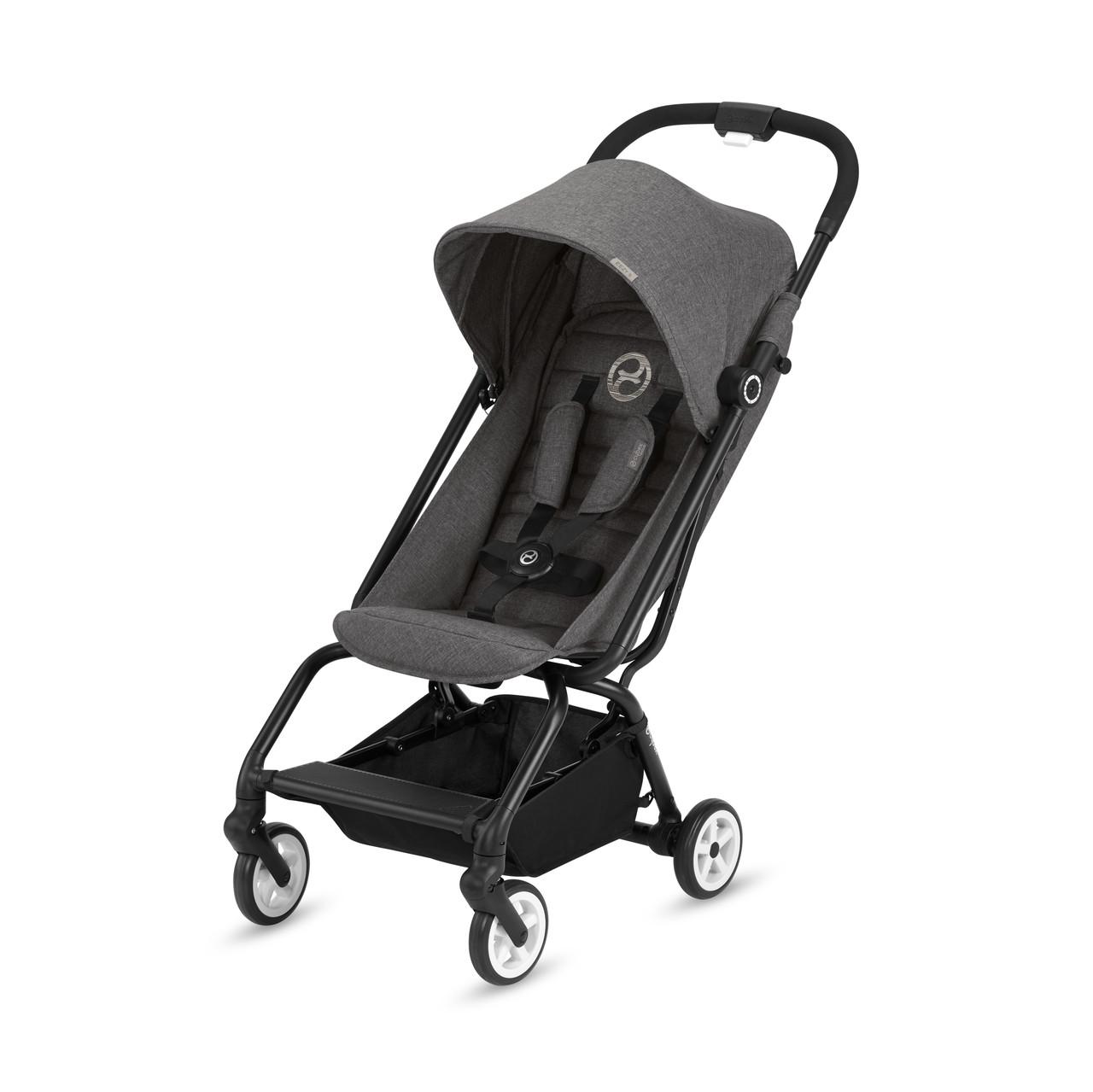 Cybex - Прогулочная коляска Eezy S, цвет Manhattan Grey