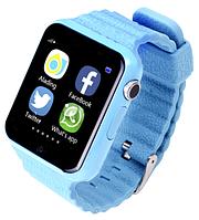 Детские часы GPS Smart Watch V7K Синий