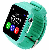 Детские часы GPS Smart Watch V7K Зеленый