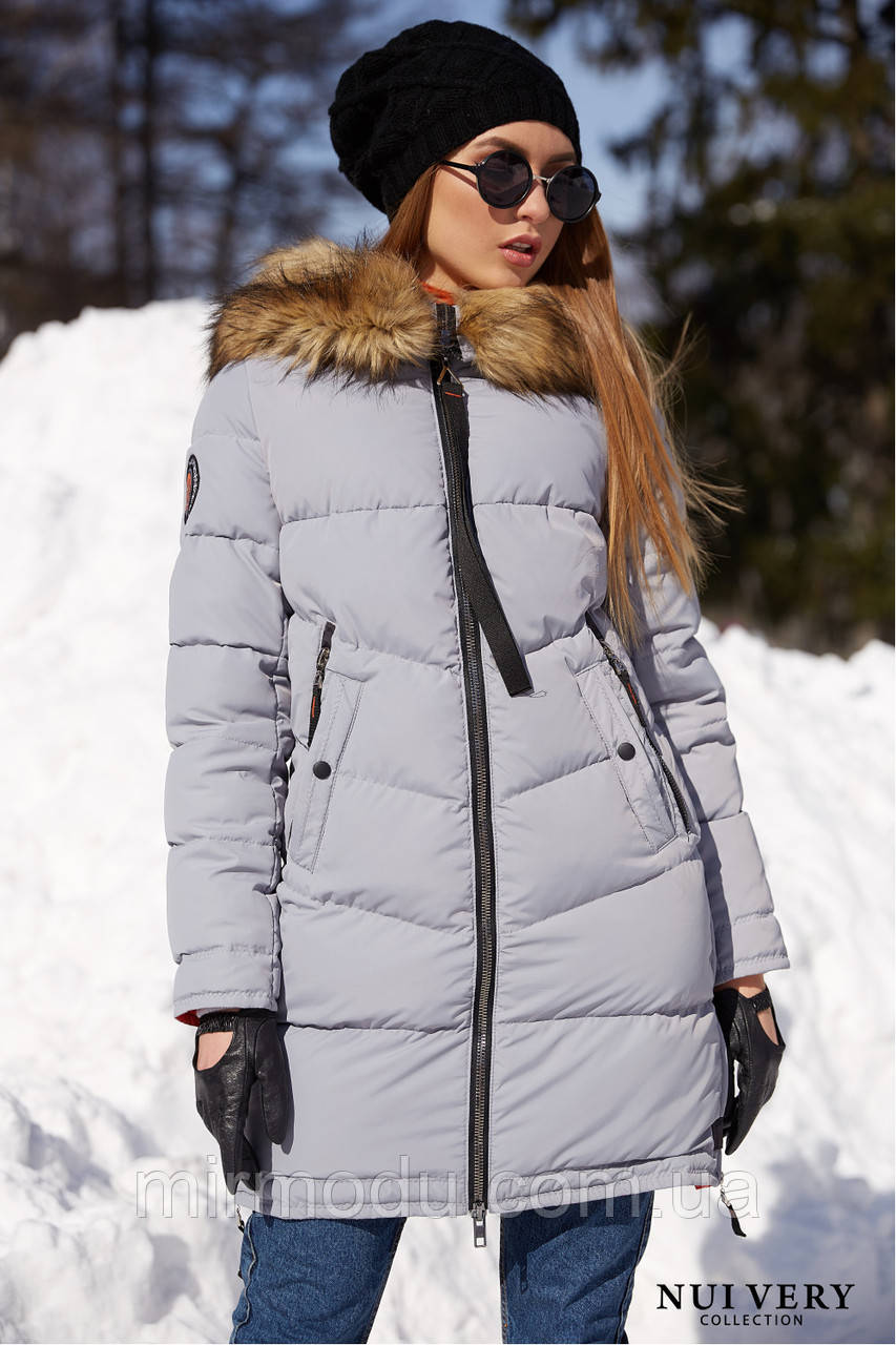 Куртка Фабьен св.серый №45 с 42 по 58  размер(вр)