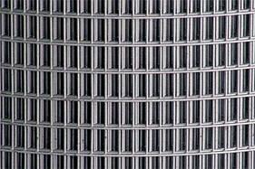 Сварная оцинкованная сетка для клеток 25*12,5*2 ширина 1м