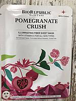 Тканевая маска с сывороткой граната BIOREPUBLIC Pomegranate Crush